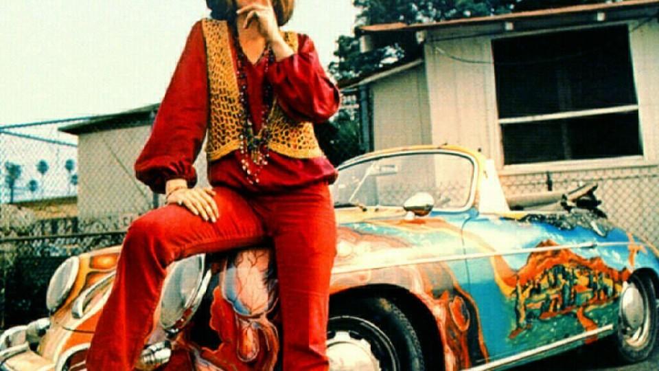 Hardcore ginger rock genius Janis Joplin and her psychedelic speedster