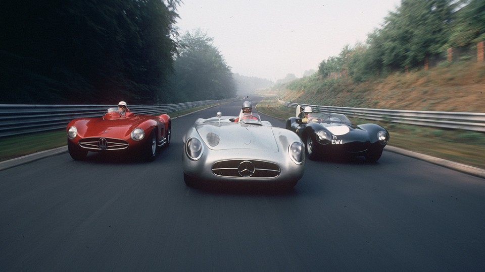 Alfa, Merc and Jag in the Green Hell