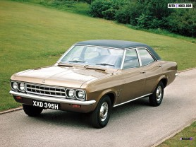 he Vauxhall Ventora: even everyman cars had a hint of brawn to them.