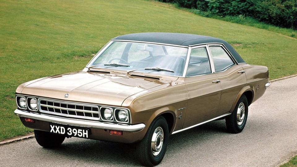 he Vauxhall Ventora: even everyman cars had a hint of brawn to them.