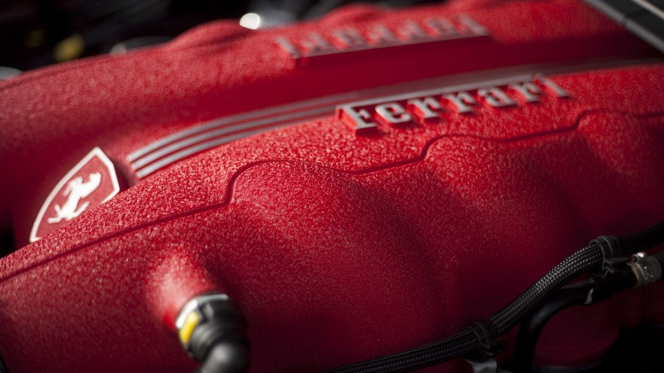 The engine produces a smoother torque curve than the 430's similar V8 unit - but with equal sound, power and glory...
