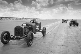 Mike Scotney's Model T Ford , featuring a modified body and a flathead v8