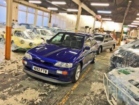 Cosworth in storage