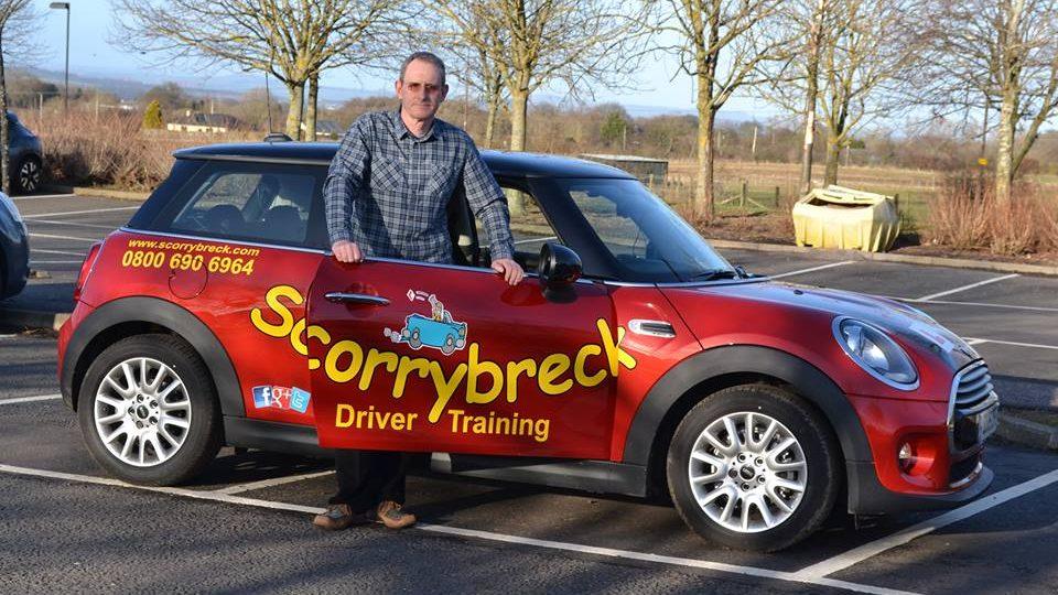 Scorrybreck instructor car