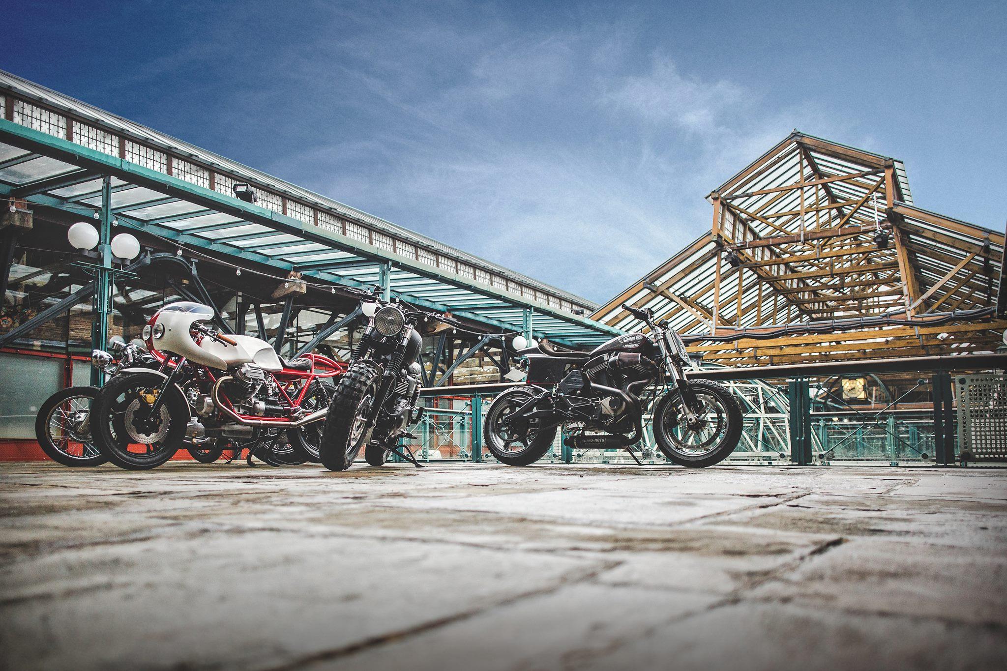 Bike Shed dock