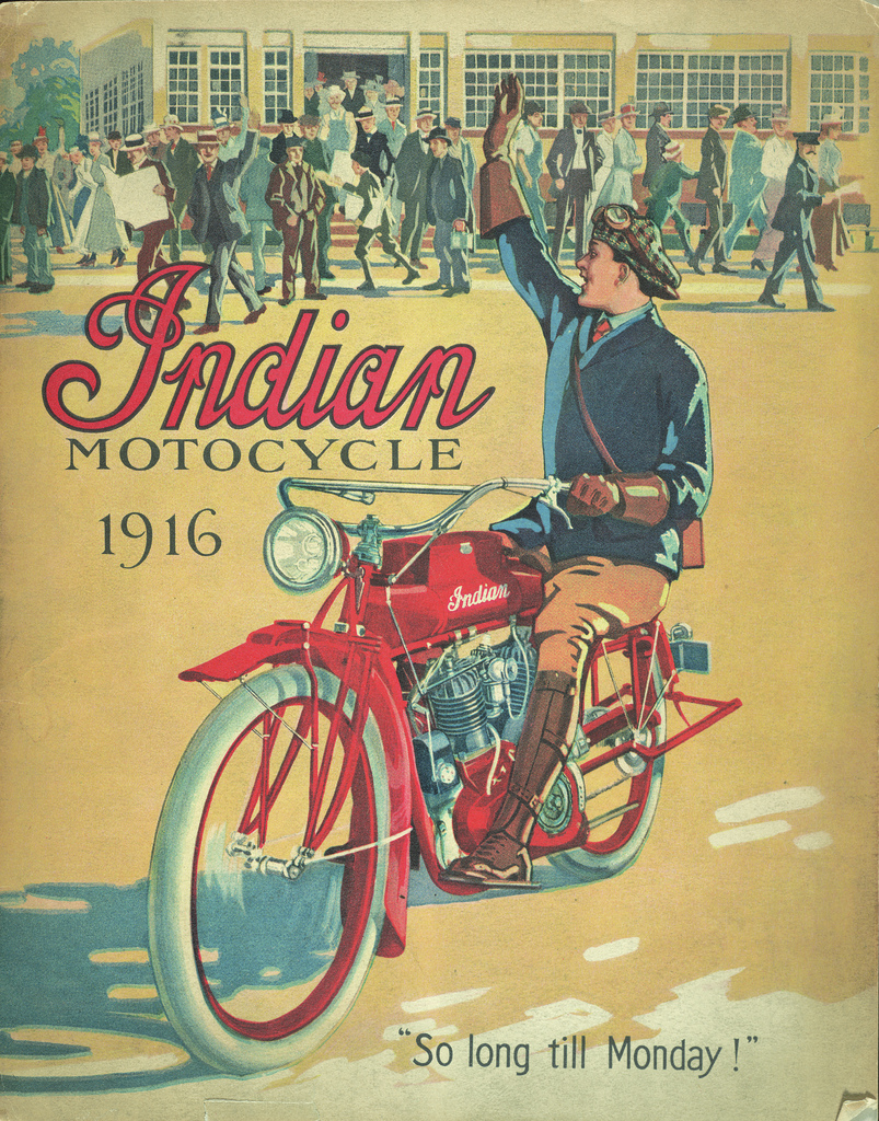 Indian ad 1917