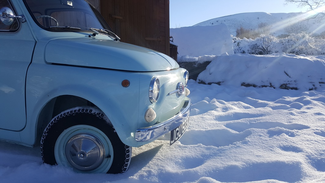 Electric Fiat 500 EV