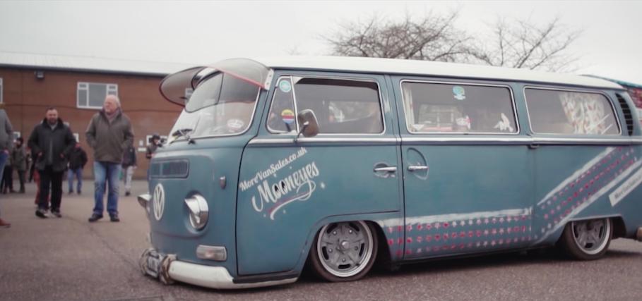 Dubfreeze slammed VW camper