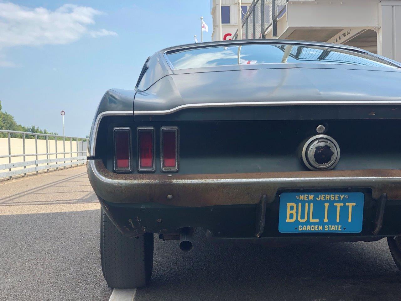 Bullitt car rear Bulitt