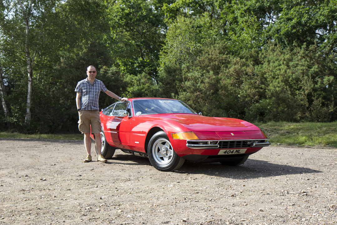 Daytona and owner Ferrari