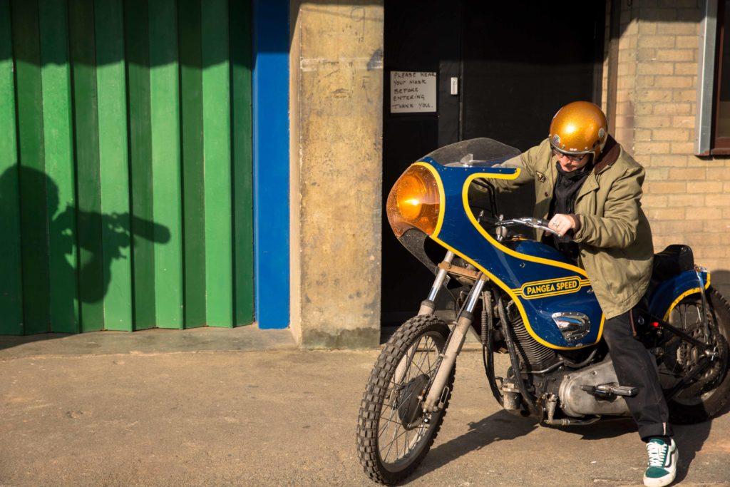 Adam Brinkworth and the Bosozoku style 1976 Pangea Speed Harley