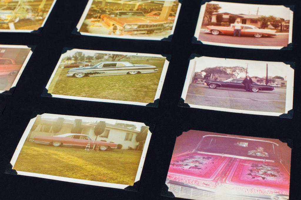 Polaroids of low-riders.