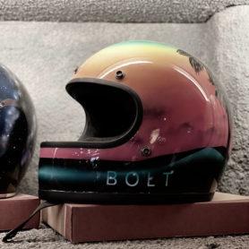 A Bolt helmet